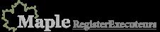 Maple RegisterExecuteurs